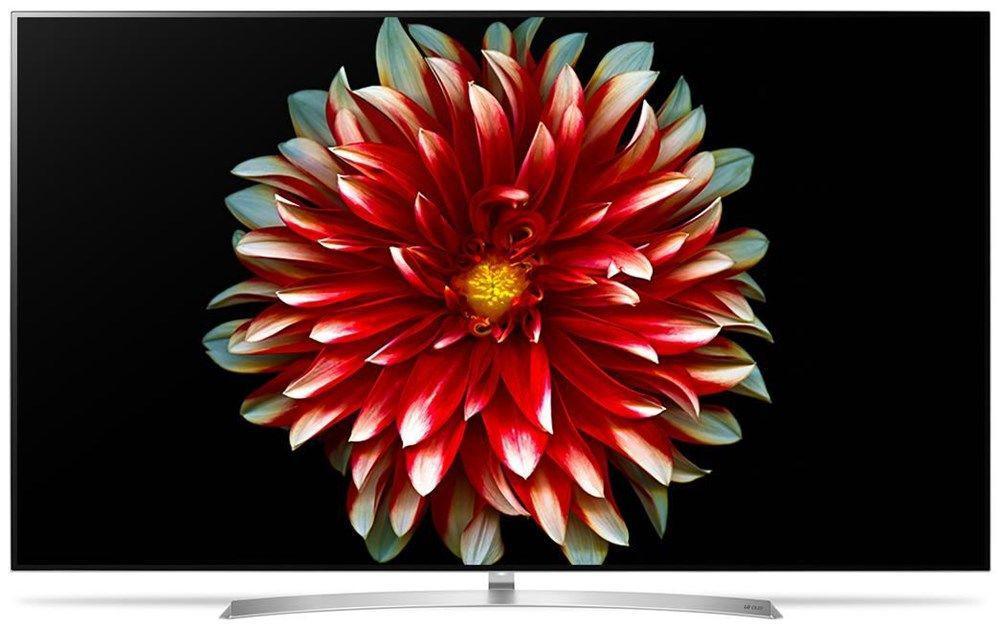 Телевизор LG OLED 55B7D (55 дюймов, OLED TV, Smart, 4K, Ultra HD, Wi-Fi, Bluetooth, HDR)