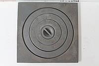 Плита чугунная под казан 410х410