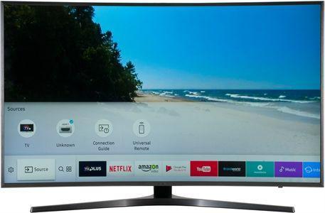 Телевизор Samsung UE49MU6645 (49 дюймов, HDR, Smart TV, Ultra HD, 4K, WLAN, Bluetooth)