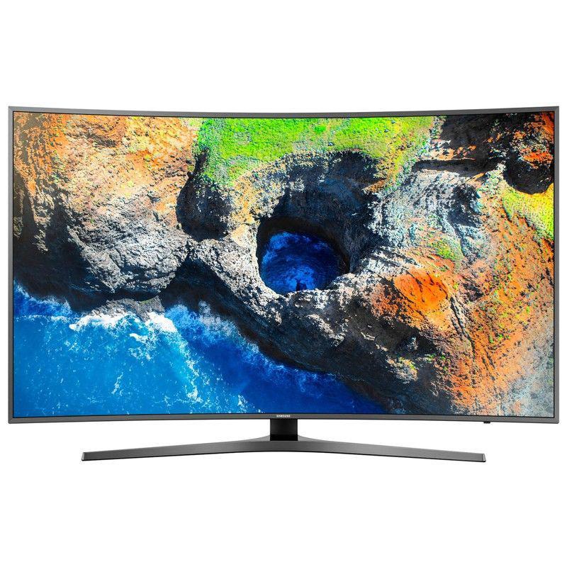 Телевизор Samsung UE55MU6645 (PQI 1700 Гц, Ultra HD 4K, Smart, Wi-Fi, DVB-T2/S2,изогнутый экран)