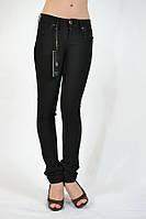 Штаны женские чёрные облегающие She Wants Турция 7505, фото 1