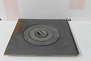 Плита чугунная под казан 410х410, фото 2