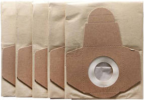 Мешки бумажные к пылесосу Einhell TC-VC 1820 S (5 шт.) 2351152  БЕСПЛАТНАЯ ДОСТАВКА