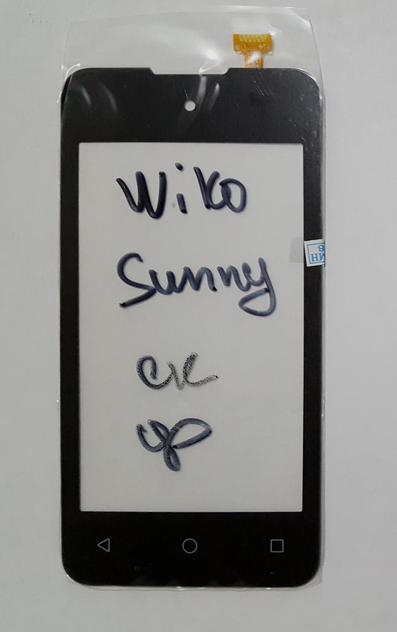 Сенсор (тачскрін) для Wiko Sunny чорний