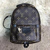 Рюкзачок кожаный женский Louis Vuitton Backpack Palm Springs Mini Monogram