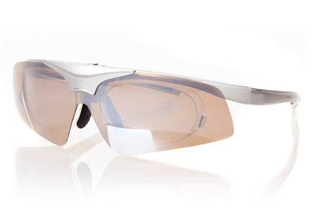 Мужские солнцезащитные очки с диоптрической вставкой Fashion SM02G, фото 2