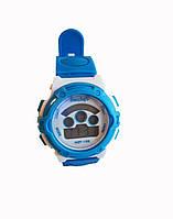 Детские электронные часы Haozhufu Голубые (Hzh-025Bl)