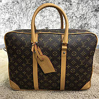 Стильный деловой портфель Louis Vuitton Porte-Dociments Voyage PM Monogram