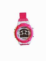 Детские электронные часы Haozhufu Розовые (Hzh-025P)