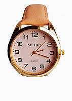Часы женские кварцевые Meibo Пудра