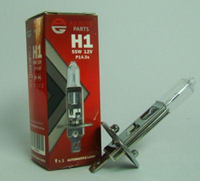 """Лампа автомобільна H1 12V 55W P14.5S """"AG AUTOPARTS"""""""