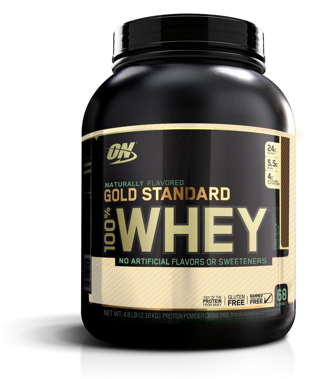 Optimum Nutrition 100% Whey Gold Standard Natural 2,2 kg