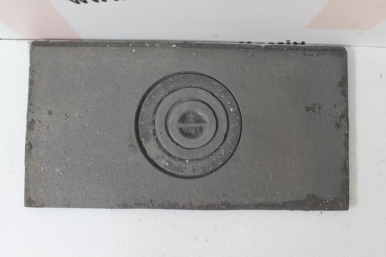 Плита чугунная одноконфорочная 320х620
