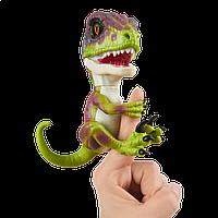 Интерактивный динозавр зеленый Stealth