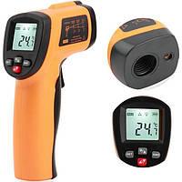 GM550E Цифровой IR Контакт Лазер LCD Инфракрасный Термометр Пистолет для измерения температуры - 1TopShop