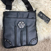 Сумка мессенджер Messenger Philipp Plein Kansas Black