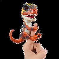 Интерактивный динозавр оранжевый Blaze