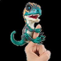 Интерактивный динозавр синий Fury