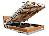 Ліжко Сафарі (з матрацом)140\160 Віка, фото 4