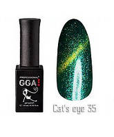 Гель лак Gga Professional Cat's Eye №035 10 мл