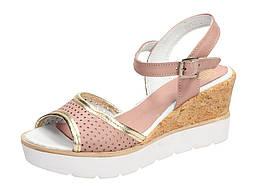 Розовые ПОЛЬСКИЕ сандалии женские SIMEN 774