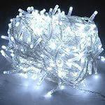 Новогодняя гирлянда 300  LED белая 18,5 метров