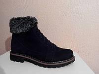 Ботинки женские замшевые демисезонные., фото 1