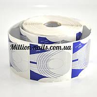 Форма для наращивания ногтей широкая(полукруг)сирень