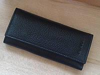 Ключница кожаная черная АКА (Турция), фото 1
