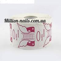 Форма для наращивания ногтей широкая ,500 штук