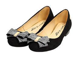 Черные ПОЛЬСКИЕ туфли женские ПРЕСТИЖ 960
