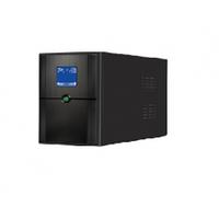 ИБП Ritar E-RTM800 (480W) ELF-D, LCD, AVR, 4st, 2xSCHUKO socket, 1x12V9Ah, metal Case.