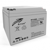 Аккумулятор AGM RITAR RT12280 12V 28AH