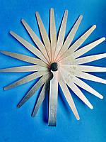 """Щуп веерный """"сервисный ключ"""" / 0,05-1,0 мм./ 20 листов в блистере."""