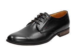 Черные ПОЛЬСКИЕ ботинки мужские KamPol 331