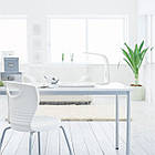 Настольная светодиодная LED лампа Maxus Desk lamp 7W white DL1-7W-WT, фото 3
