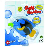 Игрушка для ванной комнаты «Рыбка с червячком»