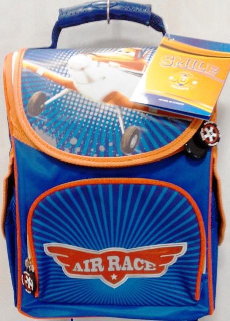 Рюкзак ортопедичний Smile Air Race синій ранець каркасний портфель
