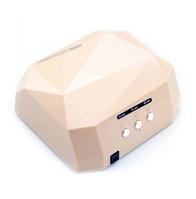 УФ LED+CCFL лампа для маникюра 36 Вт бежевая
