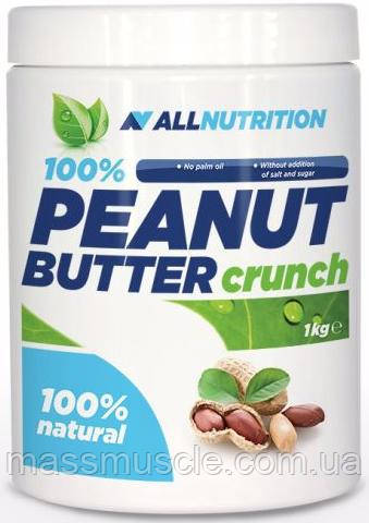 Заменитель питания AllNutrition 100% Peanut Butter Crunch 1000 g