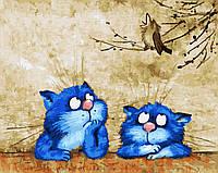 "Картина для рисования ""Соловьиная трель"" 40 х 50 см, Без Коробки"