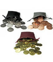 Монета пиратская  (набор 75 штук)  (Coin Pirate metal (token) set (75))