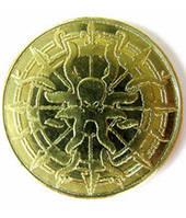 Монета пиратская золотая  (Coin Pirate gold (token))
