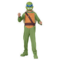 Nickelodeon TMNT Костюм черепашки-ниндзя Леонардо (трико, панцырь, маска)