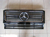Решетка радиатора Mercedes G-class W463 стиль AMG G63, фото 1
