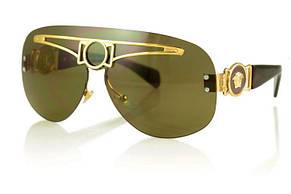 Женские солнцезащитные очки Versace модель 2131brown., фото 2