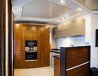 Кухнная мебель под заказ из шпона, фото 1