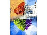 """Картина для рисования """"Дерево жизни"""" 40 х 50 см, Без Коробки"""