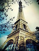 """Картина для рисования """"Магия Парижа"""" 40 х 50 см, Без Коробки"""