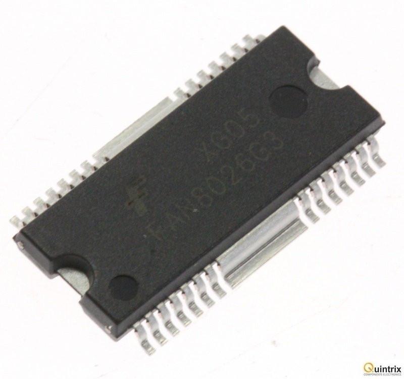 Микросхема FAN8024BD демонтаж